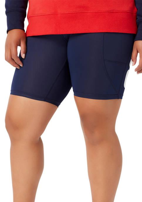 Fila Plus Size Girl Boss Bike Shorts