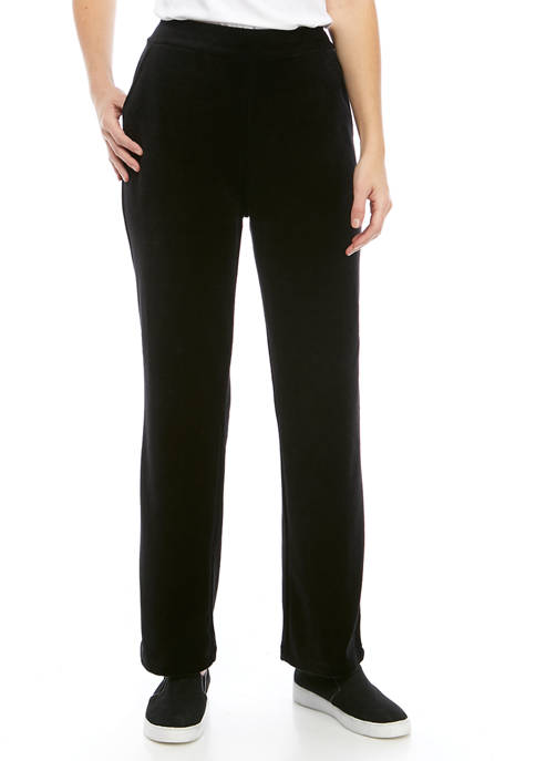 Kim Rogers® Womens Velour Pants