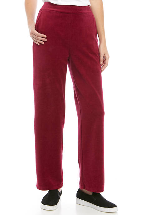 Womens Velour Pants