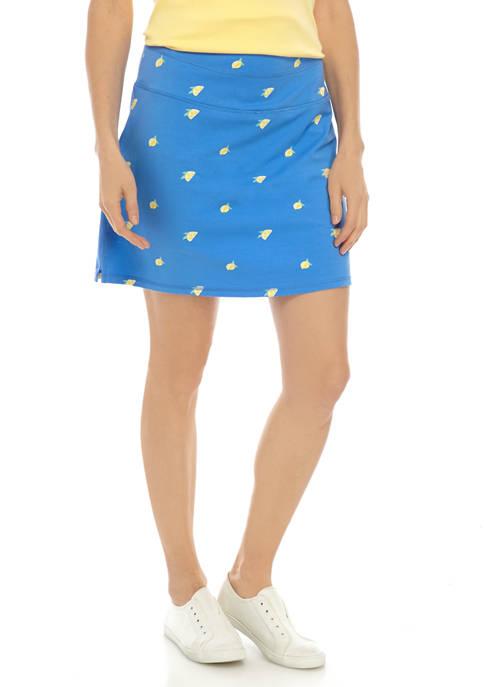 Kim Rogers® Womens Knit Skort