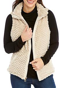 Petite Reversible Thermal Quilt Vest