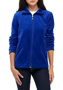 Kim Rogers® Solid Velour Jacket