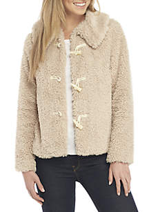 Toggle Teddy Jacket