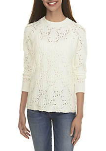 Textured Popcorn Sweater