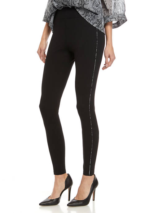 Womens Side Stripe Leggings