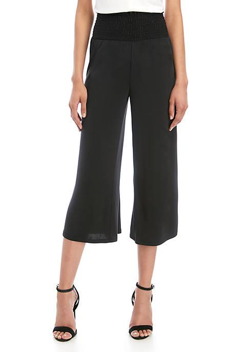 Smocked Waist Modal Pants