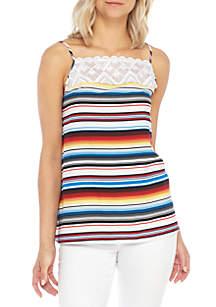 Stripe Cami Blouse