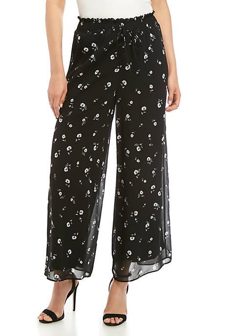 Kensie Ditsy Soft Pants