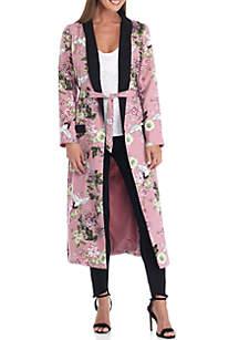 Floral Duster Kimono