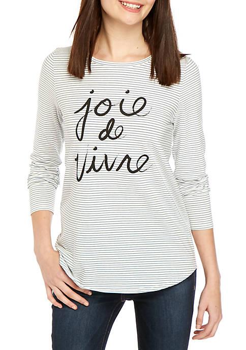 Kensie Joie De Vivre T Shirt