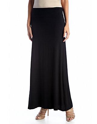 83153a3de Kensie Solid Knit Maxi Skirt | belk