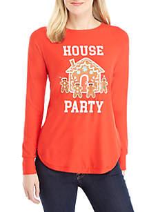 Long Raglan Sleeve House Party Tee