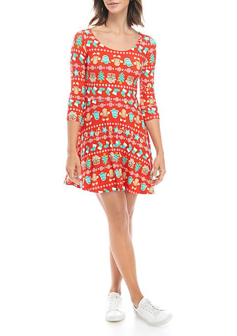 Joyland Long Sleeve Junior Yummy Dress