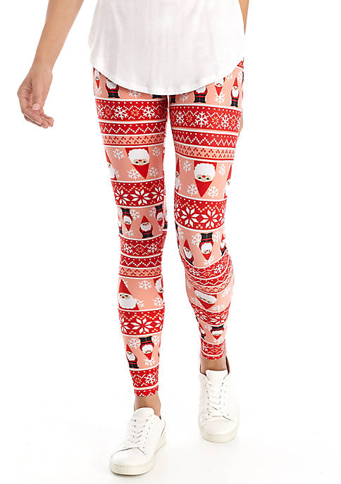 Joyland Yummy Gnome Snowflake Leggings