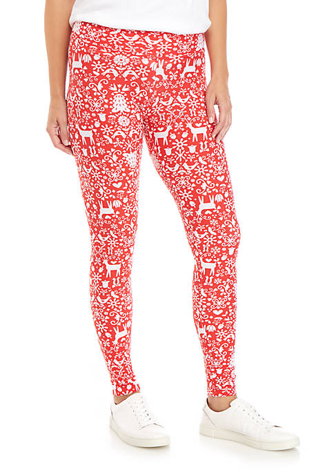 Folk Art Yummy Leggings