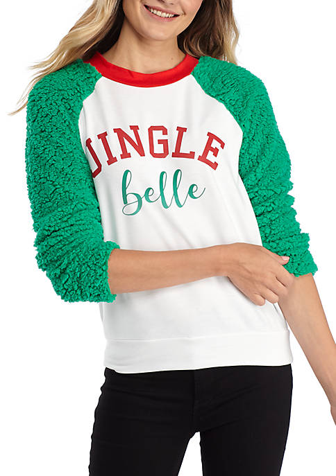 Joyland Woobie Raglan Sleeve Jingle Belle Shirt