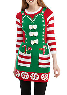 Christmas Elf Tunic Pullover