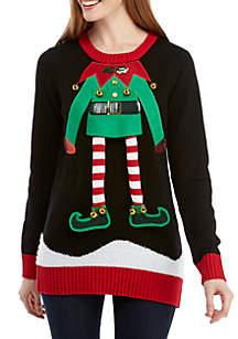 Long Sleeve Elf Body Pullover Sweater