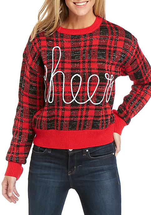 Joyland Long Sleeve Christmas Cheer Sweater