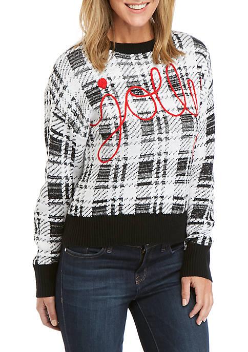 Joyland Long Sleeve Jolly Christmas Sweater