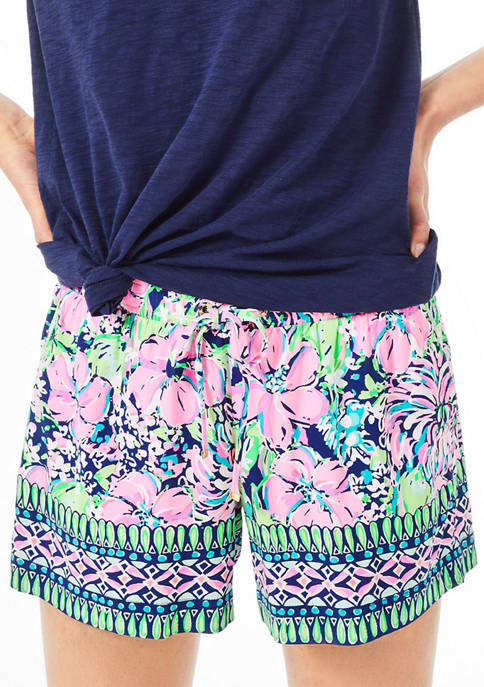 Lilly Pulitzer® Womens Katia 5 Inch Pull On
