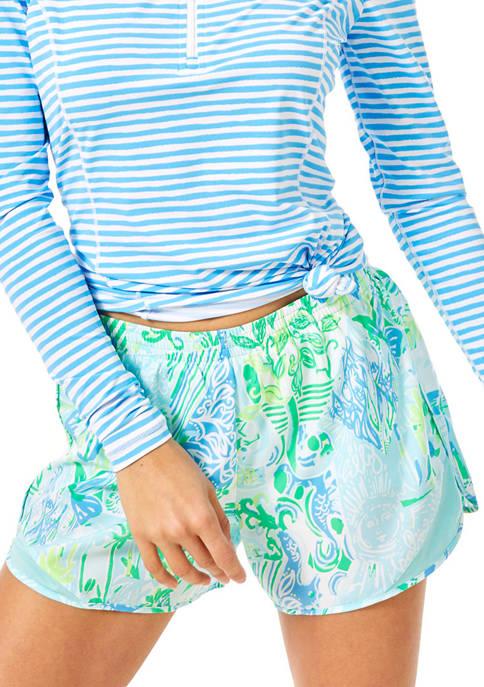 Lilly Pulitzer® Womens Ocean Trail Luxletic Shorts
