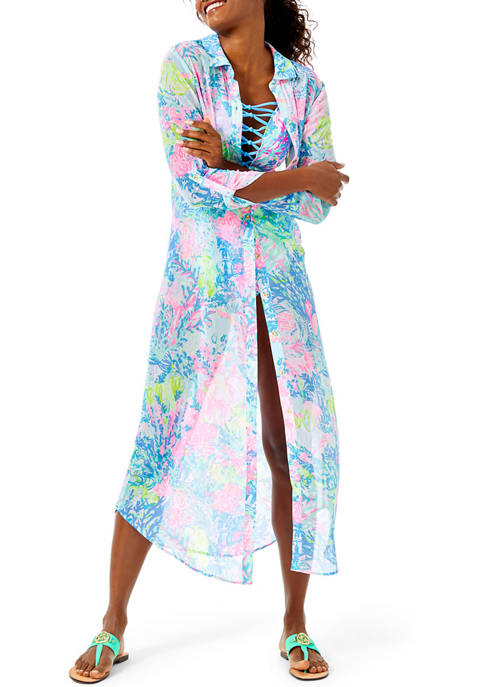 Lilly Pulitzer® Natalie Maxi Beach Cover Up