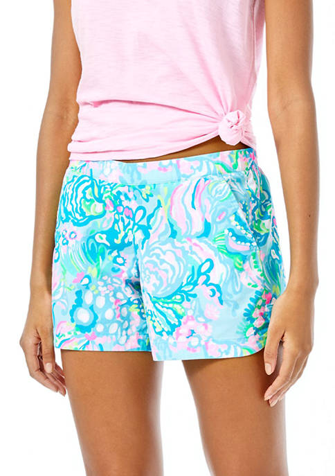 Lilly Pulitzer® Womens 5 Inch Ocean View Shorts
