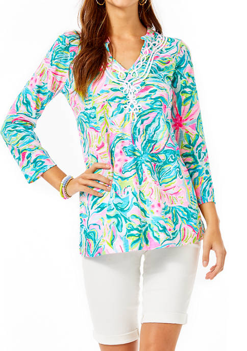 Lilly Pulitzer® Womens Kaia Knit Tunic Top