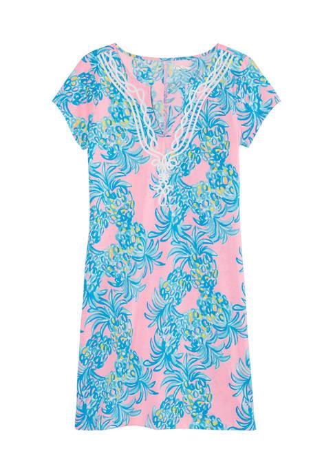 Lilly Pulitzer® Womens Short Sleeve Brewster T-Shirt Dress