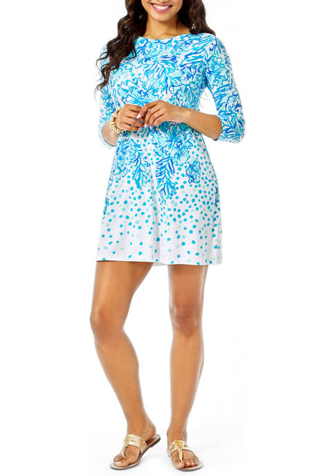 Lilly Pulitzer® Womens Ophelia 3/4 Sleeve Swing Dress