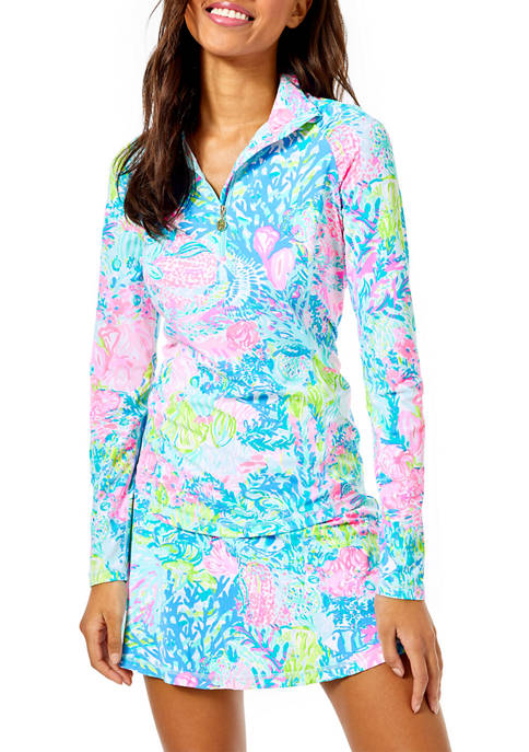 Lilly Pulitzer® Womens Justine UPF 50+ Luxletic Pullover