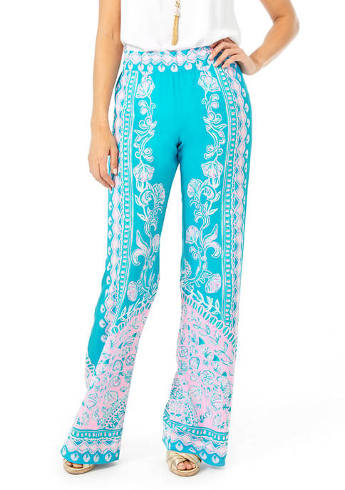 Lilly Pulitzer® Womens Bal Harbour Palazzo Pants