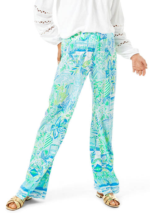 Lilly Pulitzer® Womens Bal Harbour Mid Rise Palazzo