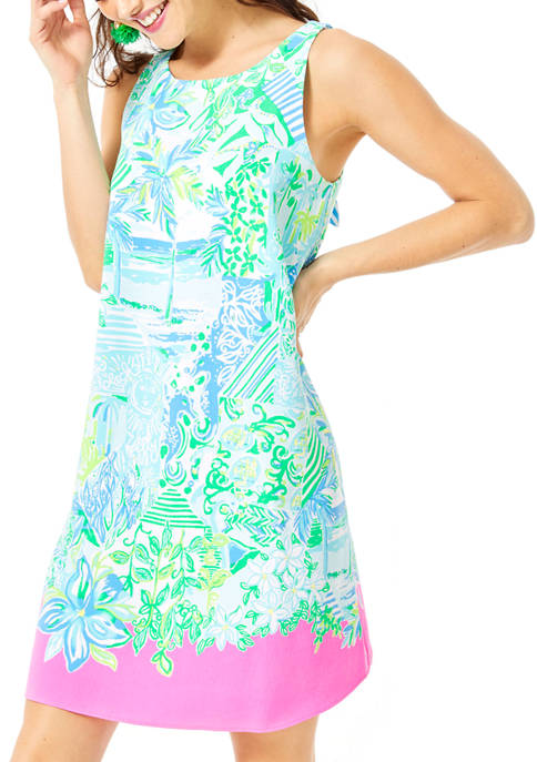 Lilly Pulitzer® Womens Jackie Border Print Shift Dress