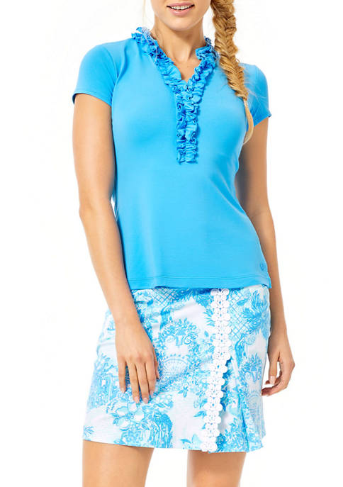 Lilly Pulitzer® Womens UPF 50+ Luxletic Frida Ruffle