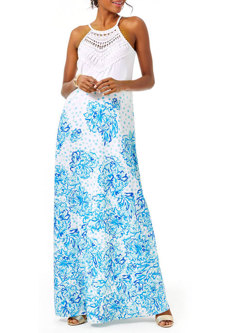 Lilly Pulitzer® Womens Pearl Soft Maxi Dress