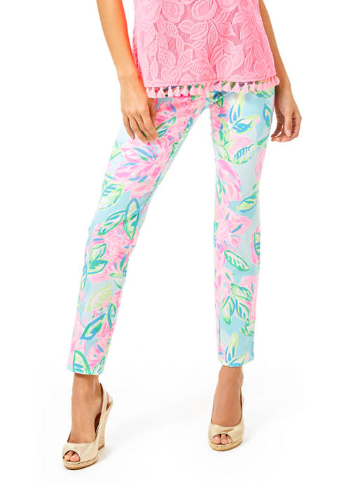 Lilly Pulitzer® Womens Kelly High Rise Skinny Ankle