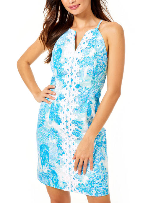 Lilly Pulitzer® Womens Pearl Stretch Shift Dress