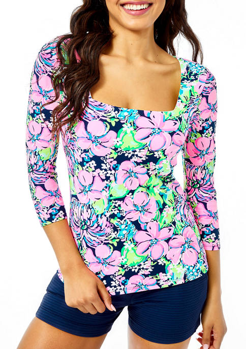 Lilly Pulitzer® Womens Nell Print Top
