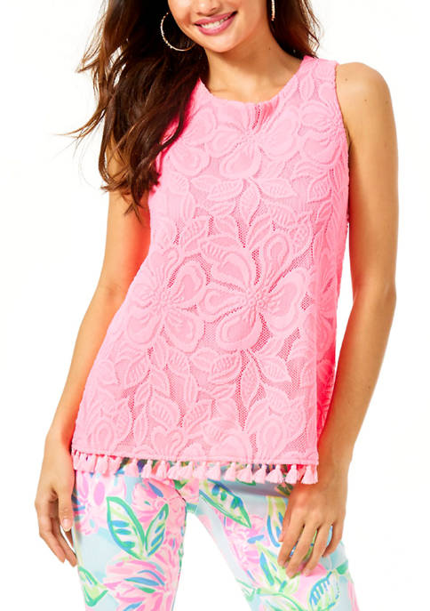 Lilly Pulitzer® Womens Maybelle Lace Top