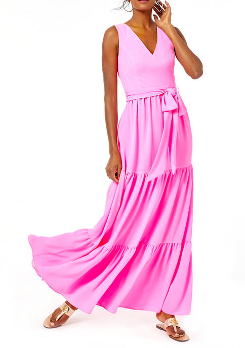 Lilly Pulitzer® Womens Sleeveless Maurine Maxi Dress