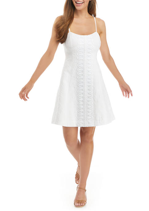 Lilly Pulitzer® Perry Lace Fit and Flare Dress