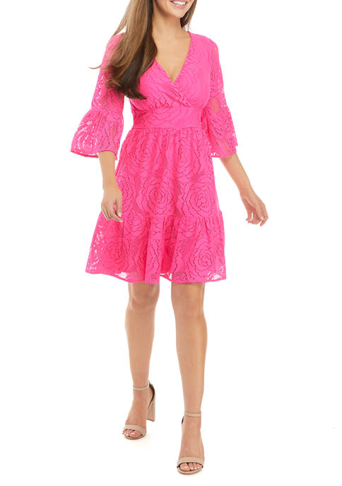Lilly Pulitzer® Cecelia Blossom Lace Dress