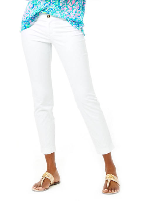Womens Kelly Skinny Ankle Pants