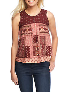 Pattern Mixed Tank