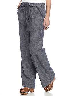 Jolt Crinkle Crepe Pant With Vents