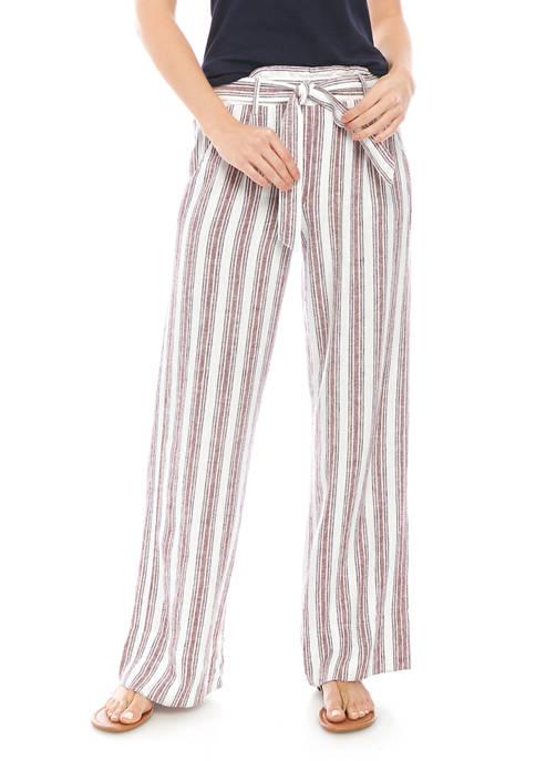 Jolt Juniors Paper Bag Linen Pants