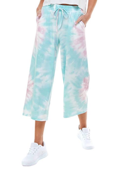 BeBop Juniors Tie Dye Cropped Pants