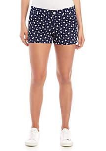 BeBop Nautical Twill Shorts